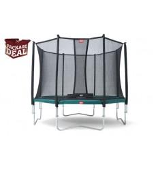 BERG Trampolin Package Deal 380cm Favorit inkl. sikkerhedsnet Comfort