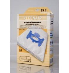 Kleenair BS 3 Støvsugerpose Bosch/Siemens Alpha BBS 3-Serie (Microfiber)