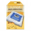 Kleenair PH 6 Støvsugerpose Philips Mobilo/Sydney (Microfibre)