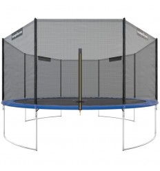 Trampolin One 430cm med sikkerhedsnet