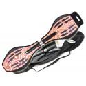 Waveboard MAXOfit® Pro XL Red Elements, op til 95kg, med LED hjul